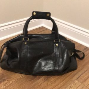 Handbags - Black Leather Duffel bag